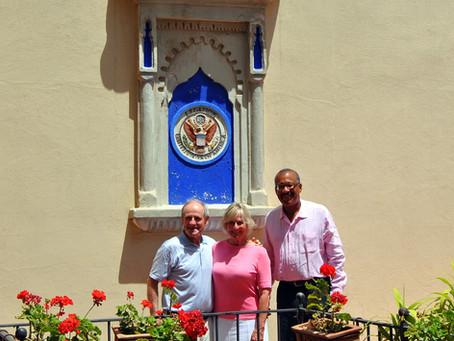 Senator James E. Risch and his family visit TALIM