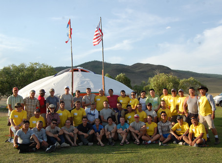 ACMS Hosts ROTC Mongolian Cultural Interpretation Field Workshop