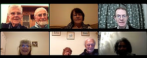 Home Group photo November 2020 names red
