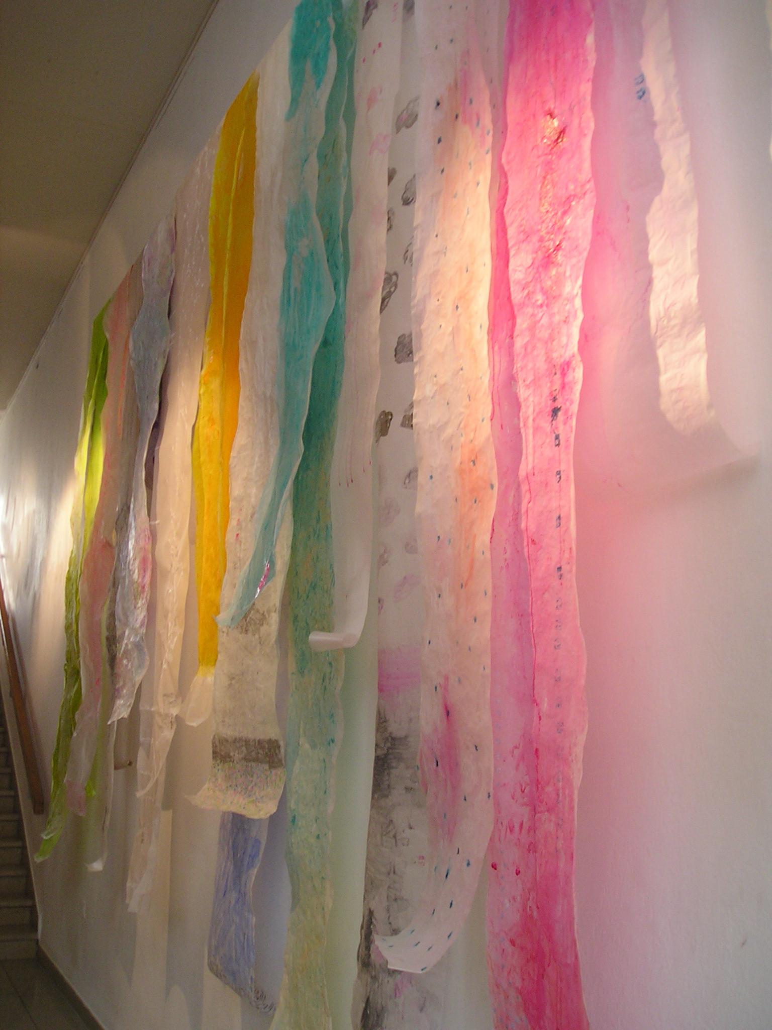 Japana - Drying Silks, installation