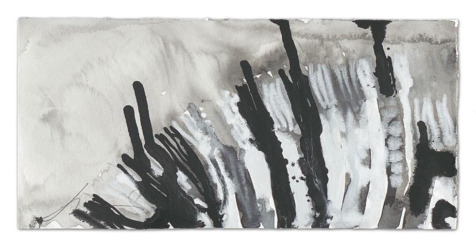 Zebra-Lomo, ink on paper, 2014