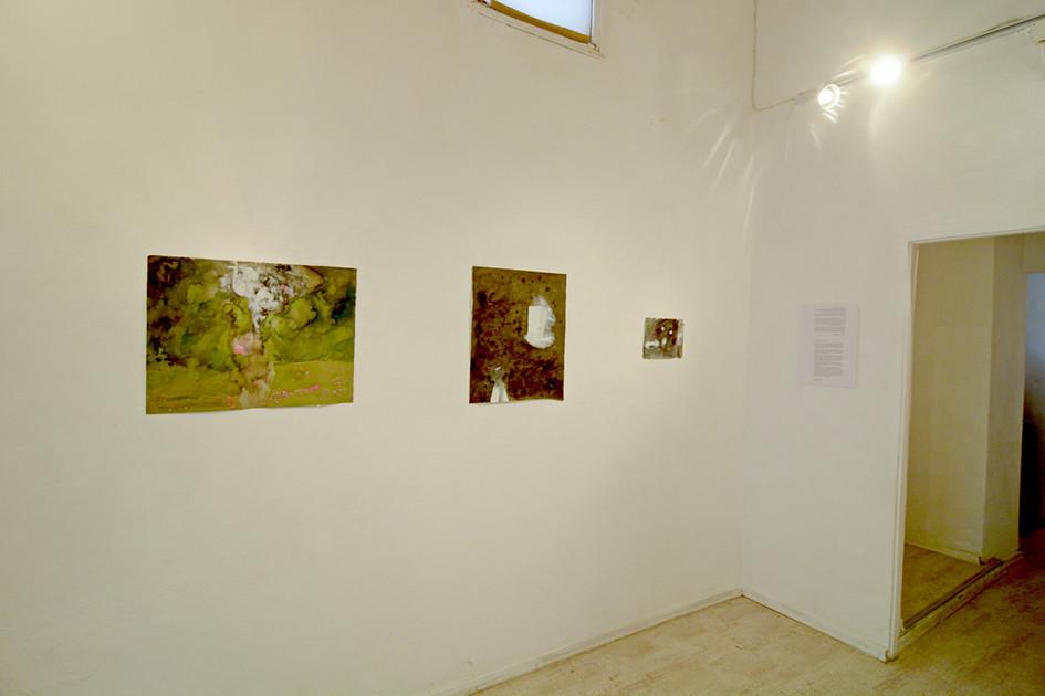 Fe de Errata exhibition view