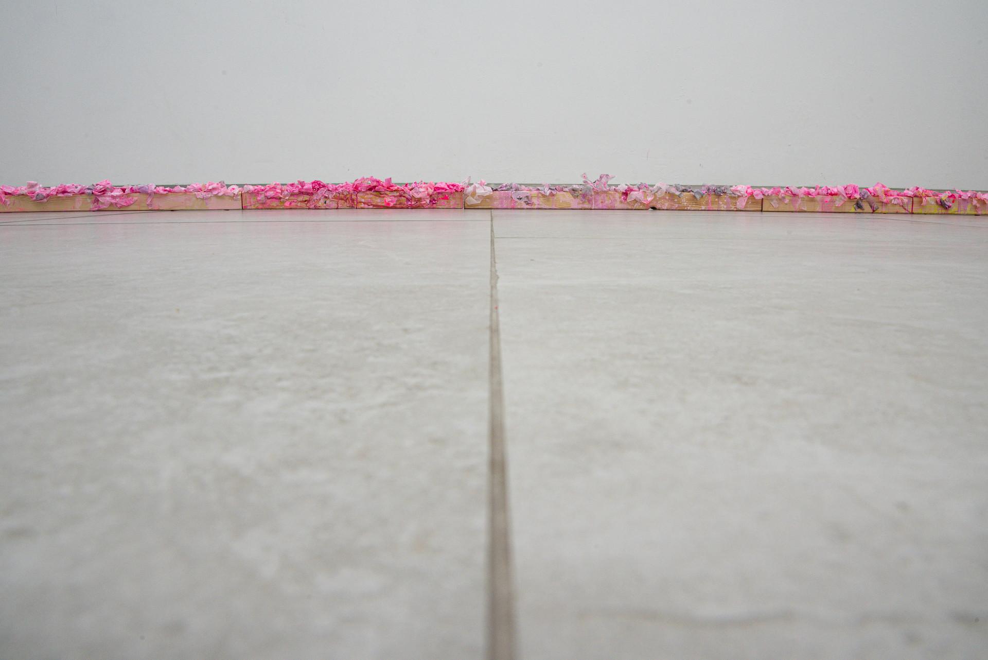 Pink Line intallation detail