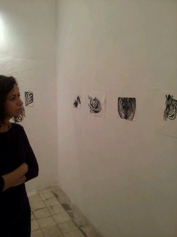 Zebras, exhibition view