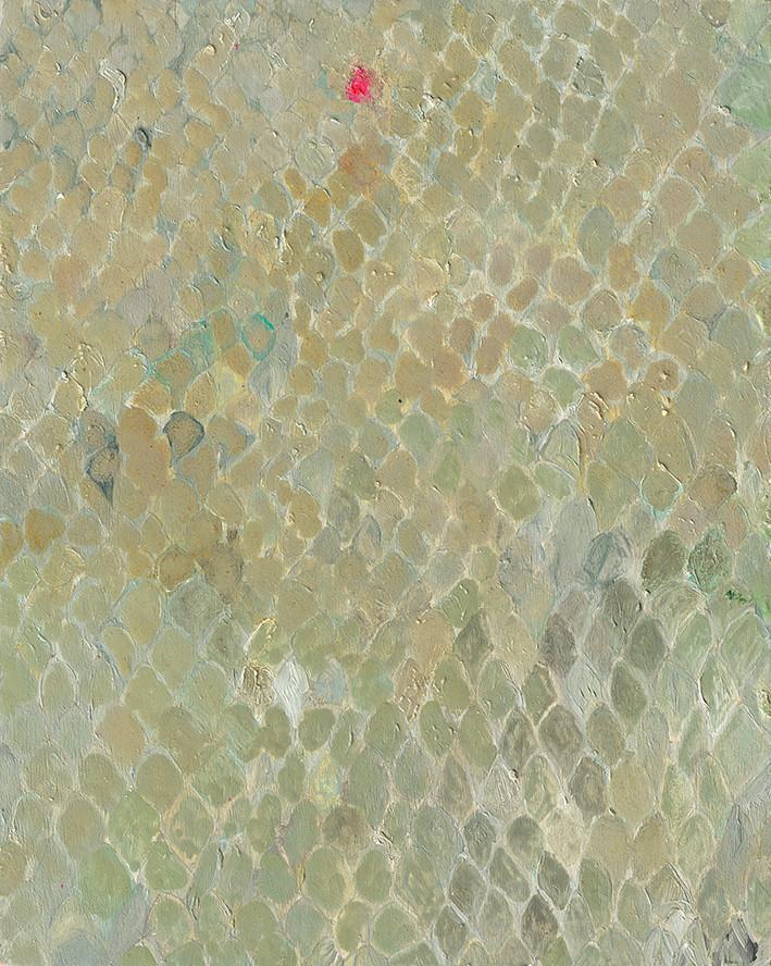 Dragon Skin, oil on canvas