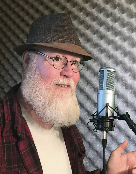 Professional voice actor Doc McGraw