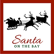 Santa on the Bay logo for Mississippi Santa Bob