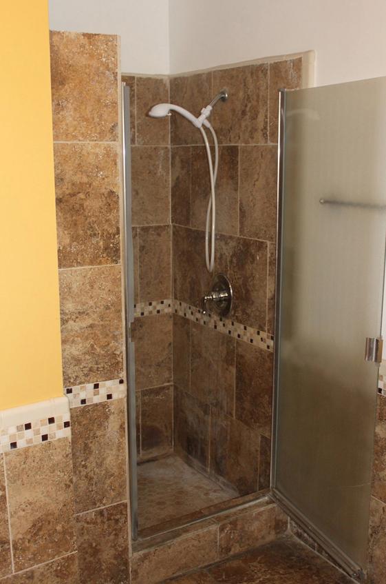large shower