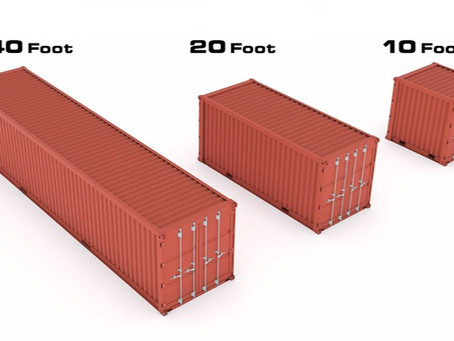 3 Popular Sea Can/ Storage Container Types