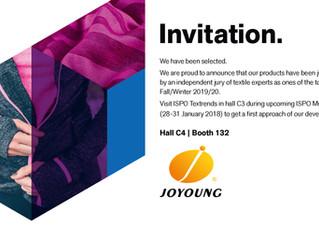 Invitation ISPO TEXTRENDS 2018