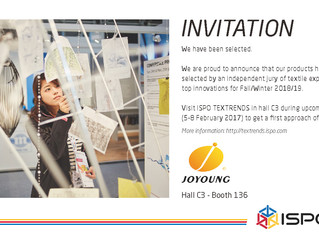 Invitation ISPO TEXTRENDS 2017