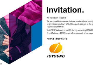 Invitation ISPO TEXTRENDS 2019