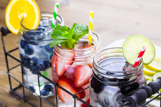 Fun Fruit Infused Water Ideas