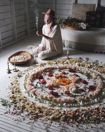 Magick Flower Mandalas & Rituals For Staying Centered