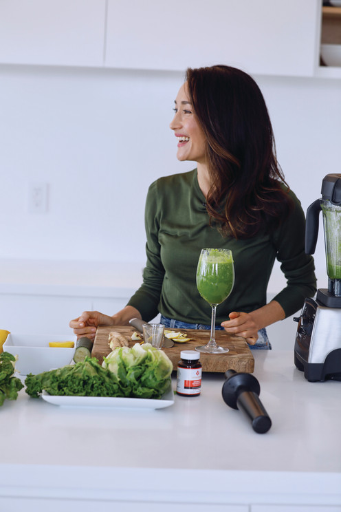 Interview with Maggie Q, Vegan Actor + Animal Rights Champion, On How She Healed Her Body