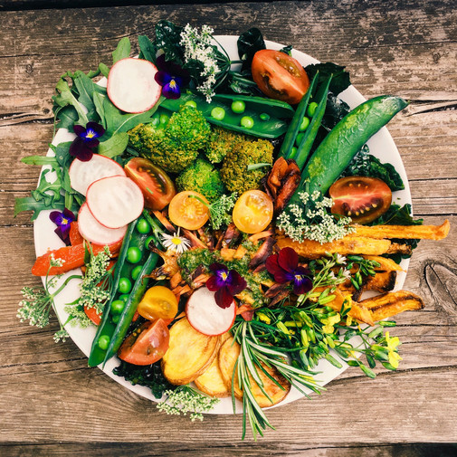 Oven-Baked Veggies + Gluten-Free Granola