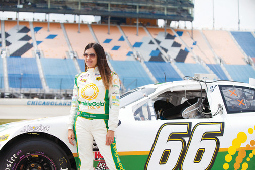 Never Underestimate a Vegan Hippie Chick with a Race Car; Fighting for a Better Future with Leilani