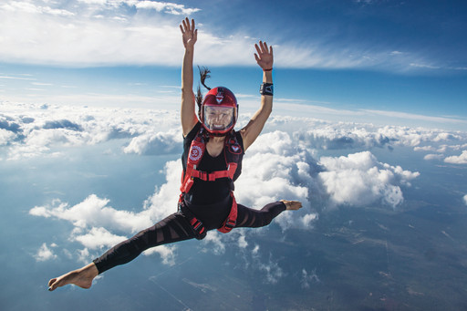 Stillness in the Sky: One of the World's Top Skydivers, Angela Tara Hsu, Takes Her Yoga Practice to
