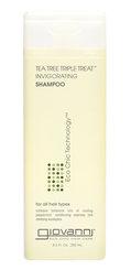Giovanni Cosmetics   Tea Tree Triple Treat Invigorating Shampoo