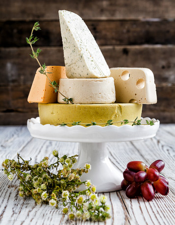 Simple Plant-Based Cheese Recipes by Jules Aron