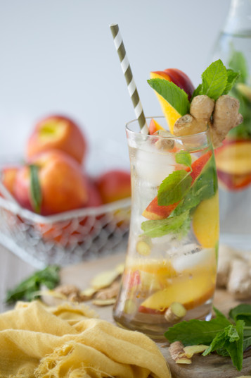 Make Your Own Gorgeous Herb + Fruit Infused Water