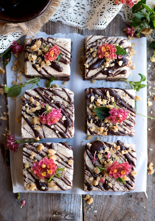 Layered Cocoa-Mocha Ice Cream Bars by Our Favorite 15-Year-Old Vegan, Sophie Nguyen