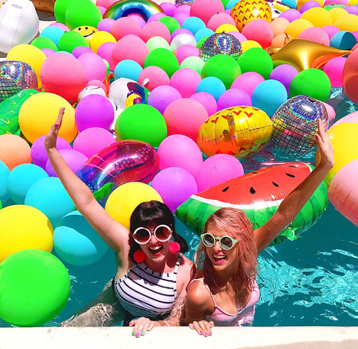 A Whimsy Wonderland: Our Favorite Duo Inspires Us to Live in Full Color