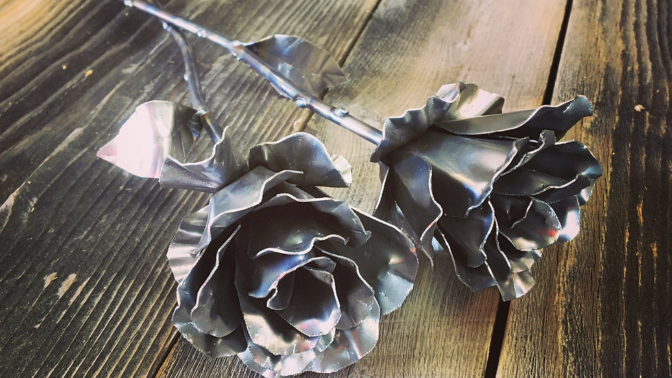 Single Steel Rose