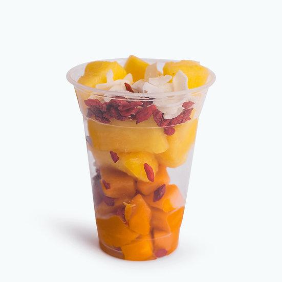 Orange sun - מנגו, אננס, קוקוס, גוג'י ברי