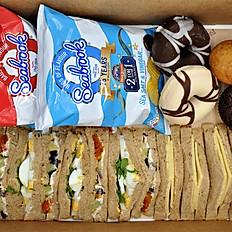 Working Lunch B  -  Sandwich, Crisps, Cake
