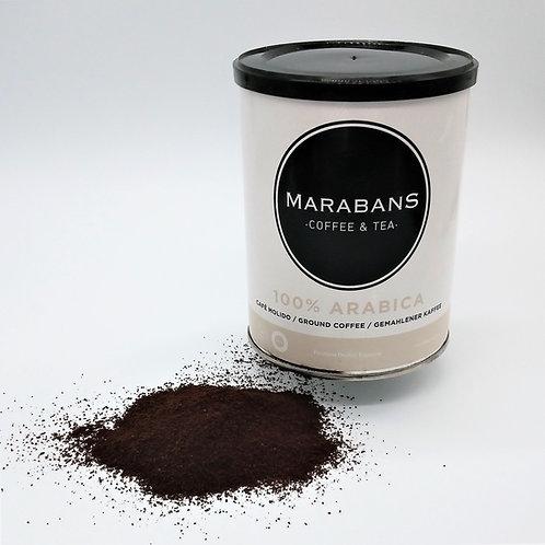 Marabans 100% Arabica  Coffee Ground 250g