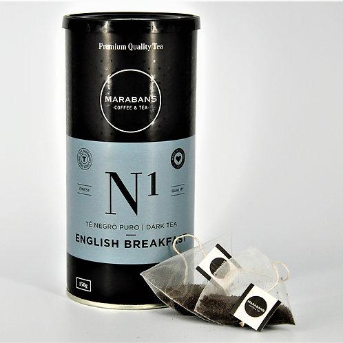Marabans English Breakfast Tea - Pyramid Bags 25