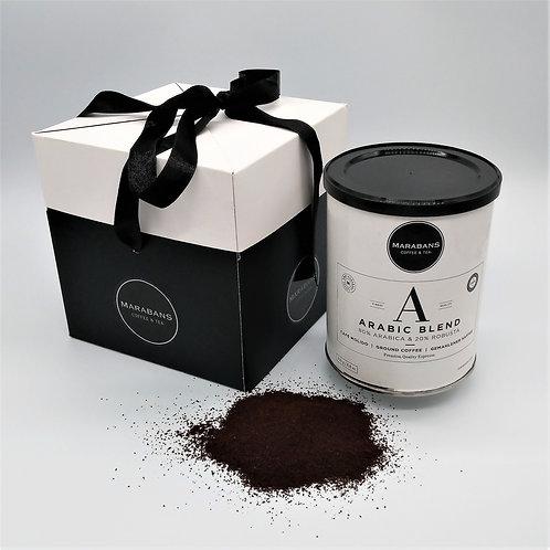 Marabans Gift Box - Arabic Blend Ground Coffee 250g