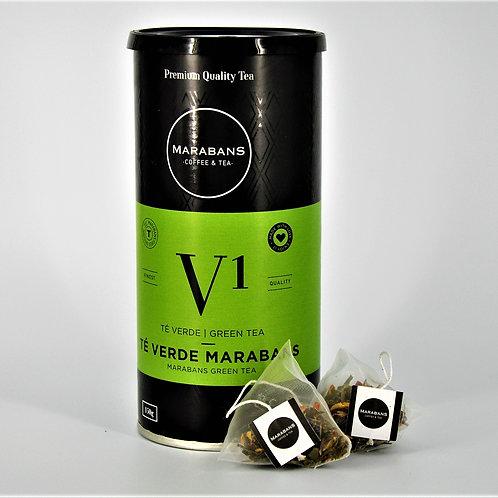 Marabans Green Tea - Pyramid Bags 25