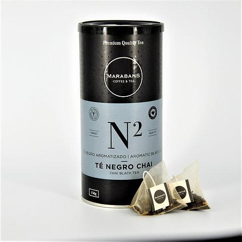 Marabans Chai Tea - Pyramid Bags 25