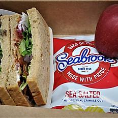 Box A - Sandwich, Crisps, Fruit