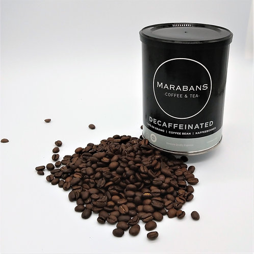 Marabans Decaffeinated 100% Arabica  Coffee Beans 250g