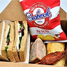 Box C - Sandwich, 3 x Savoury Choices & Crisps