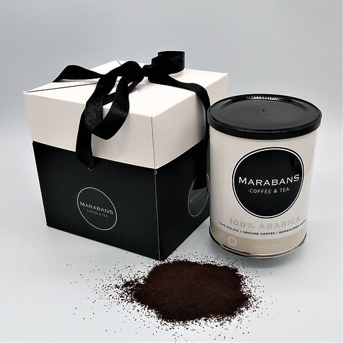 Marabans Gift Box 100% Arabica  Coffee Ground 250g