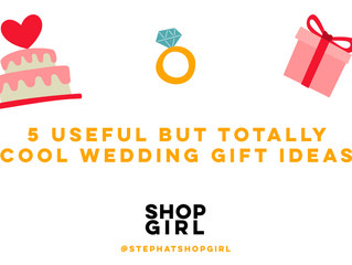 5 Useful but Totally Cool Wedding Gifts