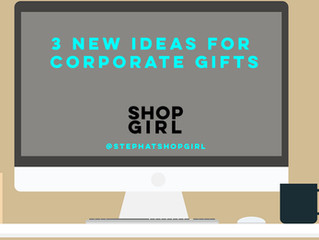 3 New Ideas for Corporate Gifts