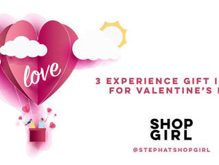3 Experience Gifts for Valentine's Day