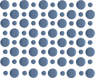 Blue Gray Dots Background