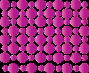 Fuscia Dots Background