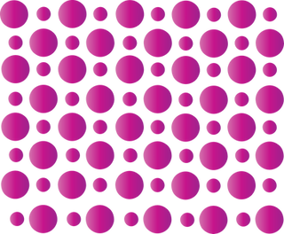 Fuscia Dots Background