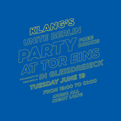 ome and Unite at Klang's Unite Berlin Party!