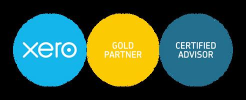 xero-gold-partner + cert-advisor-badges-