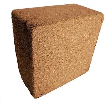 coconut coir 11 lb (5 kg) block - naked