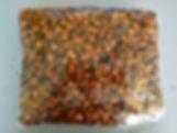 coconut husk chips in bag