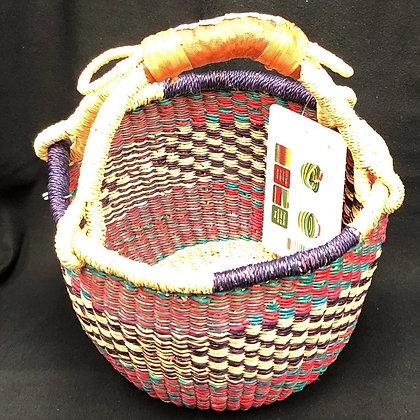 Mini Round Grass Basket